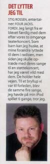 Stig Rossens uofficielle fanside - Four Jacks - Velkommen hos Olinerne